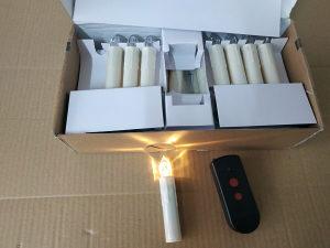 LED svijeće na AA baterije,daljinski,30 komada,vanilija