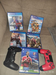 PS4 igre gamepad