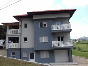 PVC(plastične) ograde balkonske