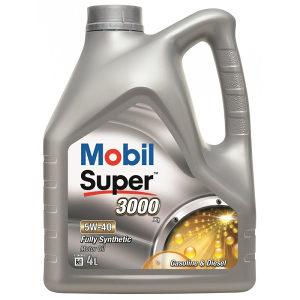 Ulje MOBIL SUPER 3000 X1 5W-40 4L- AUTODOM