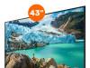 "Samsung TV 43"", LED, 4K UHD, Smart"