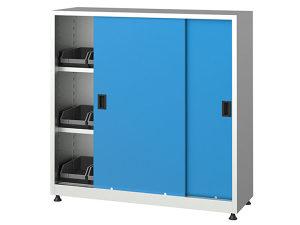 Metalni ormari sa kliznim vratima, 6510, 120x40x120 cm