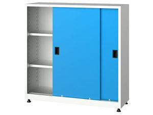 Metalni ormari sa kliznim vratima, 6525, 120x40x120 cm
