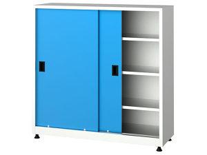 Metalni ormari sa kliznim vratima, 6535, 120x40x120 cm