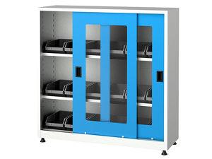 Metalni ormari sa kliznim vratima, 6545, 120x40x120 cm