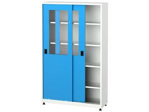 Metalni ormari sa kliznim vratima, 6551, 120x40x195 cm
