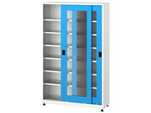 Metalni ormari sa kliznim vratima, 6560, 120x40x195 cm