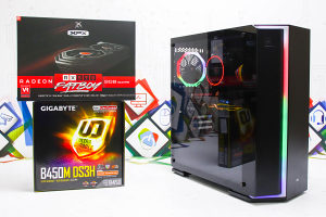 Gaming PC Metropolis; Ryzen 7 2700; RX 590; SSD; DDR4