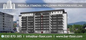 Stan za prodaju u Kiseljaku 58,71 m2