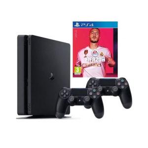 PlayStation 4 Slim 1TB + FIFA 20 + DUALSHOCK (PS4)