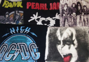 Ramones ACDC Kiss Pearl Jam majice