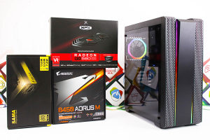 Gaming PC Impulse; Ryzen 7 2700; RX 580; SSD; DDR4