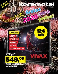 TV LED 49S60T2S2 Smart VIVAX