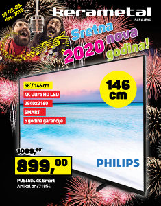 Philips LED TV PUS6504 4K Smart