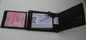 Muški kožni novčanik - MADE IN GERMANY