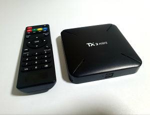 TANIX TX3 - ANDROID SMART TV BOX - 4K / IPTV / EON