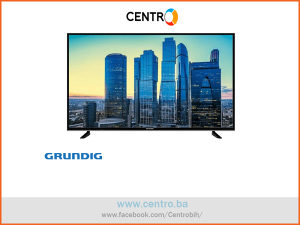 "GRUNDIG TV 43 GDU 7500 B, 43"" (108 cm), UHD/4K, Smart"