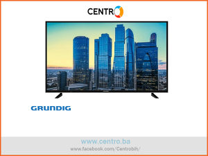 "GRUNDIG TV 55 GDU 7500 B, 55""-139 cm, UHD/4K, Smart"