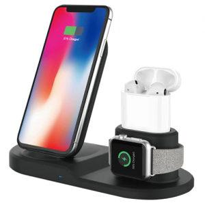 Bežično Punjenje za Apple AirPods iPhone iWatch