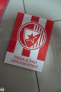Sveska crvena zvezda a4 / copybook fc red star bg