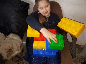 Sklapalice ,slagalice za djecu (plastične)