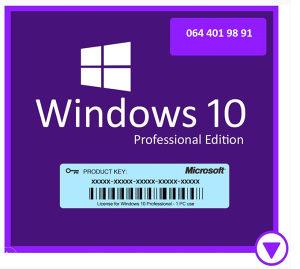 Microsoft Windows 10 Pro ORIGINAL Licenca Ključ