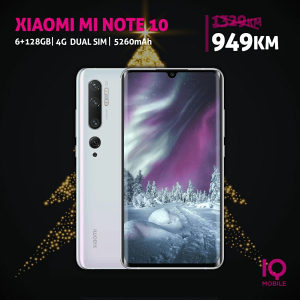 Xiaomi Mi Note 10 - 6,47 incha|6GB+128GB|108 MP|5260mAh