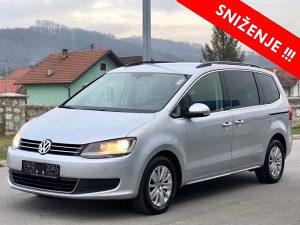 VW SHARAN 2.0 TDI MODEL 2011 EURO 5 - TEK UVEZEN!!!