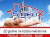 SIGENX potražuje manji stan ISPLATA ODMAH