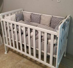 Krevetac za bebe krevetić dječiji BABY STARS Nina NOVO
