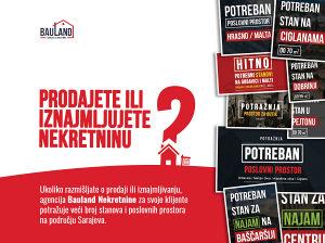 Potražnja / STAN / Sarajevo / DO 70 m2