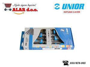 UNIOR 5-dijelni set grubih turpija 762/5B