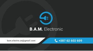 Električar/Elektro usluge Zenica B.A.M. ELECTRONIC