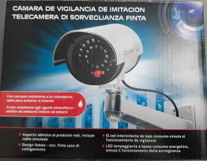 Nadzorna kamera - imitacija
