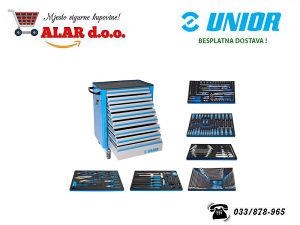 UNIOR 238-dijelni set alata sa kolicima 1011CEV6