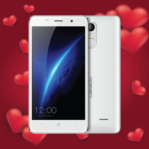 LEAGOO M5 WHITE NOVO/2GB RAM/FINGERPRINT
