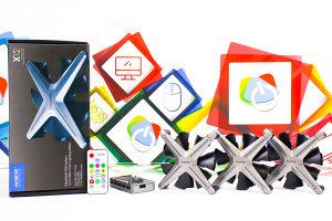 Cooler Alseye X12 KIT RGB system 120mm x3 sa daljinskim