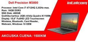 Dell Precision M3800 Core i7 Quad Core