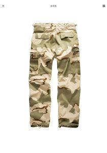 Maskirane pantalone hlace army