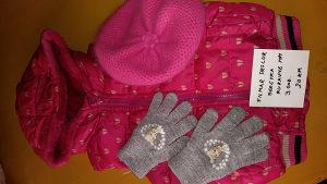 Prsluk beretka i HM rukavice