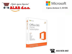 Aplikacije, Microsoft Office365 Home Mac/Win Eng Sub