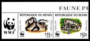 R.DU BENIN 1999 - Poštanske marke - 499 - ČISTE