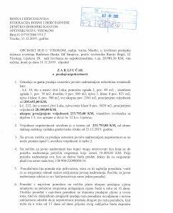 Prodaja zemljista i kuce u Lijesevu , Opcina Visoko