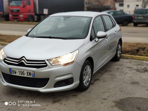 Citroen C4 1.6ehdi 92ks  2011/12 cijena do registracije