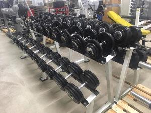 Bučice jednoručne 2 x 32,50kg 062/546-546 tegovi Bučica