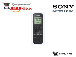 Sony diktafon PX370, 4GB