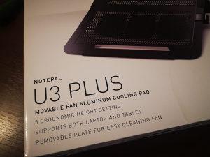 Stalak za Laptop Cooler Master NOTEPAL U3 PLUS