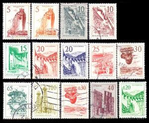 JUGOSLAVIJA 1958 - Poštanske marke - 2704