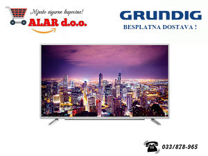 "LED TV GRUNDIG 43"" VLE 6730 WP FULL HD SMART 800 HZ"