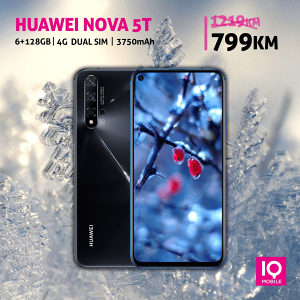Huawei nova 5T |6,26 incha|48MP|6GB+128GB|3750mAh